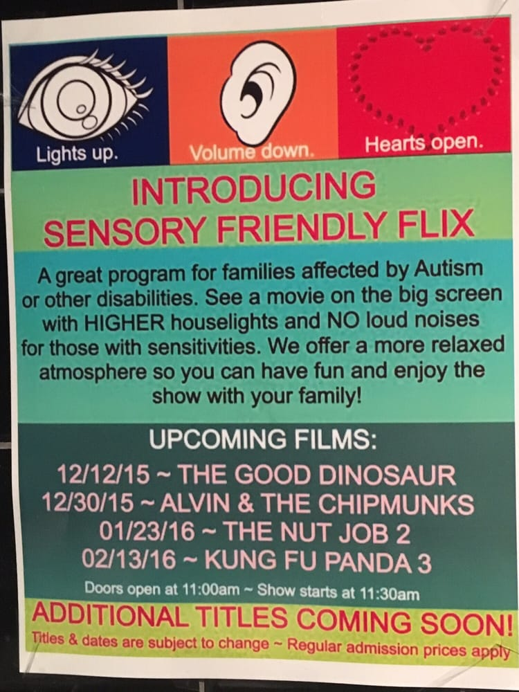 Like Yelp But For Autism Friendly >> So Cool Sensory Friendly Flix Yelp