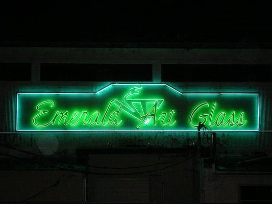 Emerald Art Glass emerald art glass - interior design - 2300 josephine st, south