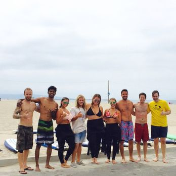 Photo Of Malibu Longboards Surf School Santa Monica Ca United States Group