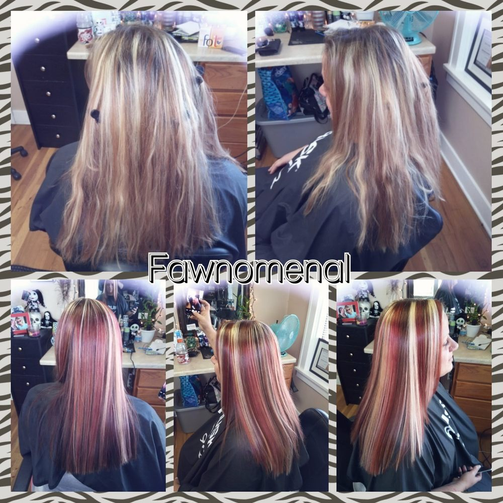 Tricolor Hair Getting Ready For Fall Tricolor Highlights