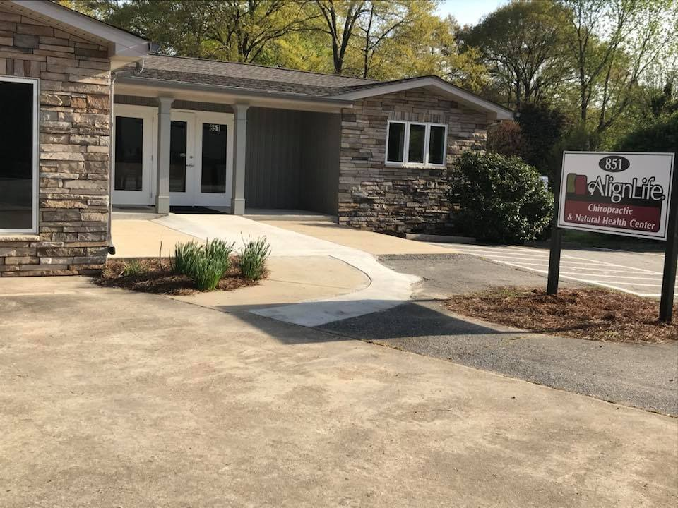 AlignLife - Chiropractic & Natural Health Center: 851 John B White Sr Blvd, Spartanburg, SC
