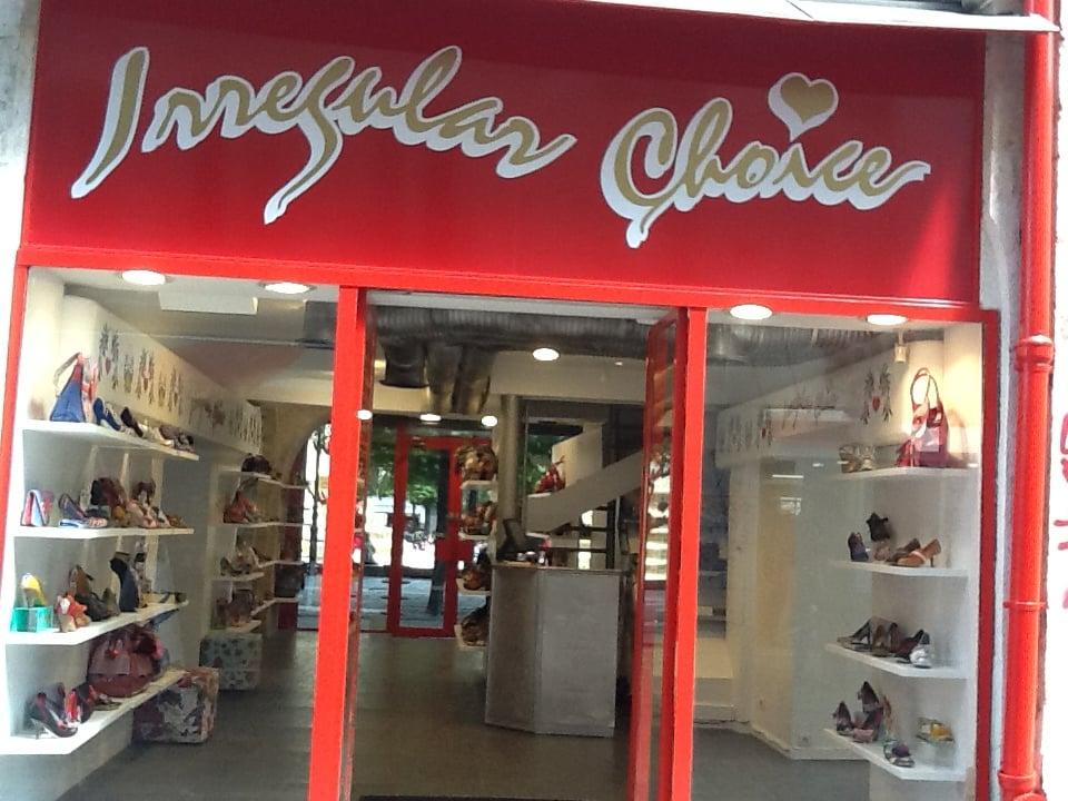 Irregular choice magasins de chaussures 1 rue du cygne ch telet les hall - Les halles paris magasins ...