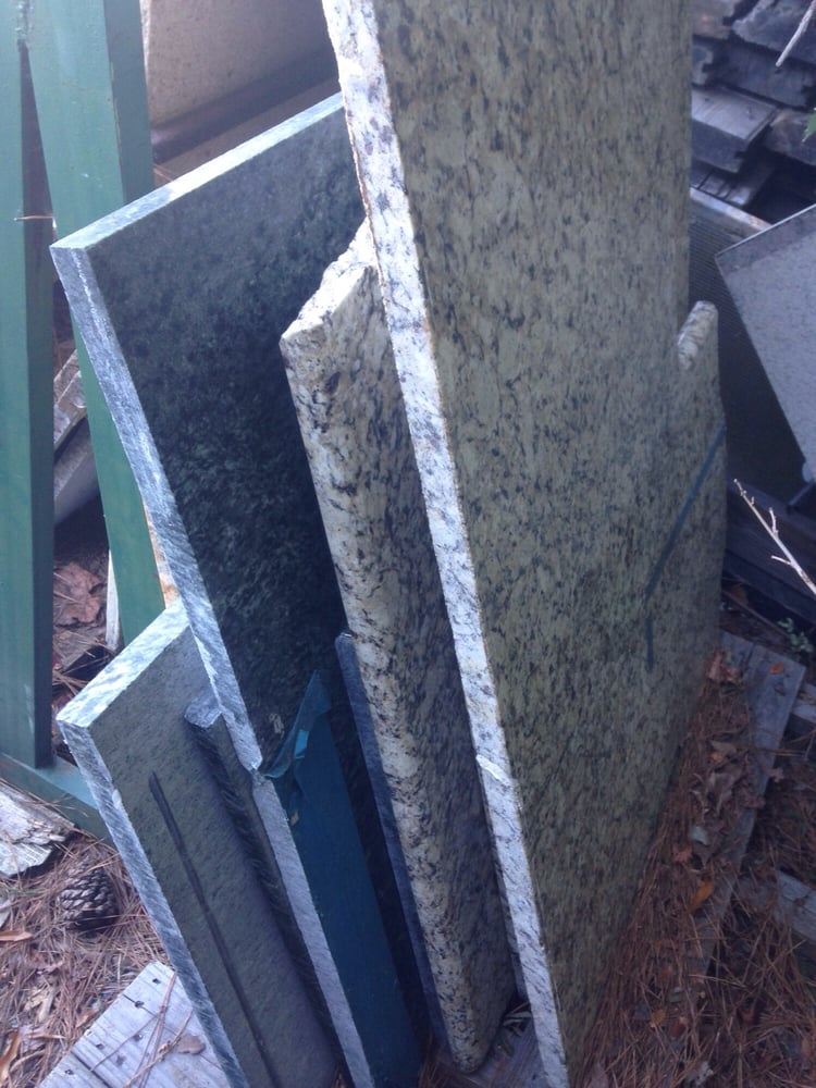 Photo Of The Reuse Warehouse Durham Nc United States Granite Countertop Pieces