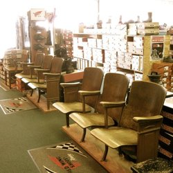 Photo Of Golden Rule Store   Muncie, IN, United States. Antique Theater  Chairs