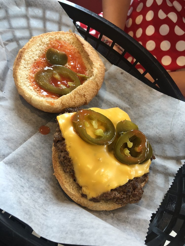 Double Flame Burgers: 5408 Valley Station Rd, Louisville, KY