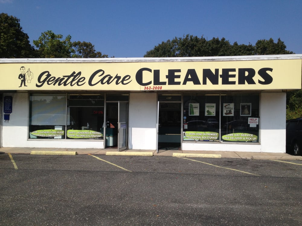 Gentle Care Cleaners: 951 Montauk Hwy, Bayport, NY