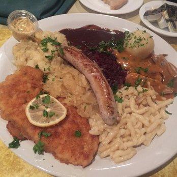 Photo Of German Restaurant Holiday Fl United States Sampler Platter