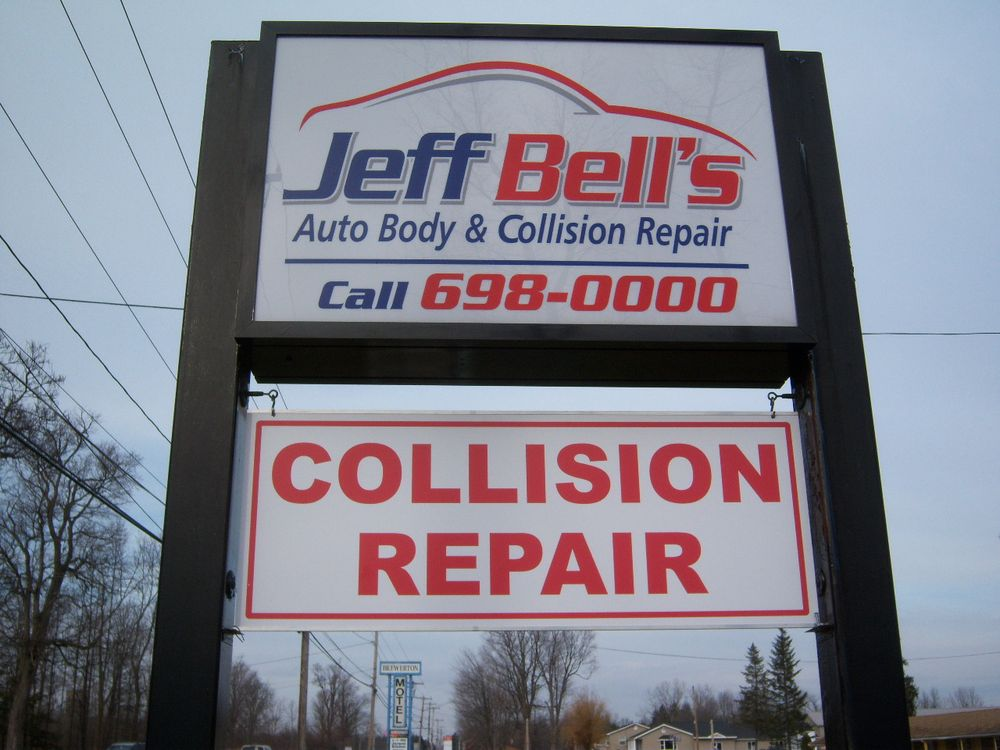 Jeff Bell's Auto Body & Collision Repair: 9168 Brewerton Rd, Brewerton, NY