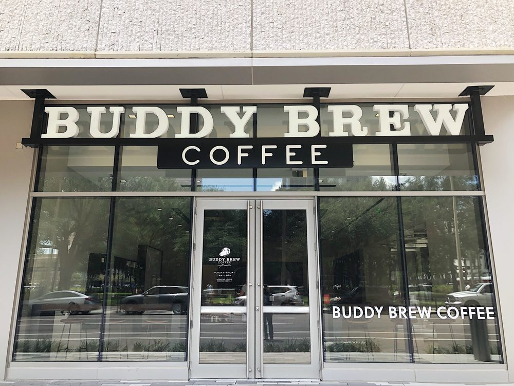Buddy Brew Coffee - Park Tower: 400 N Tampa St, Tampa, FL