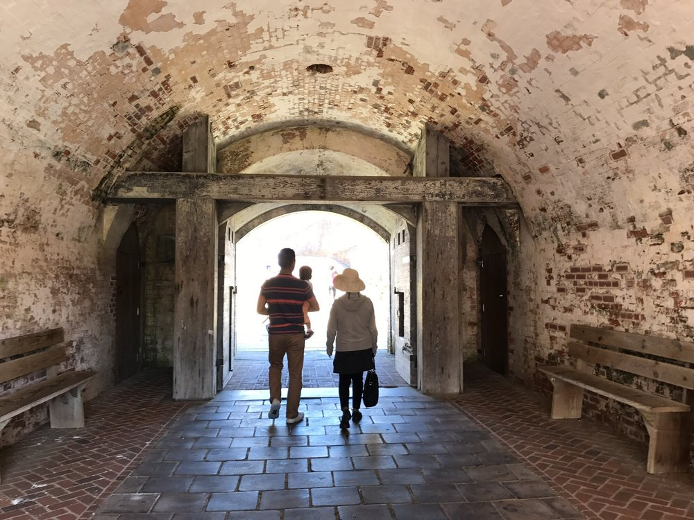 Fort Macon Historic Site: 901 E Fort Macon Rd, Atlantic Beach, NC
