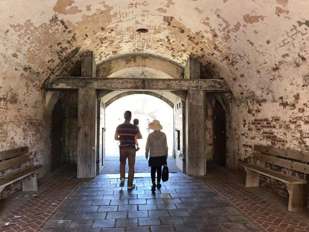 Fort Macon Historic Site: 901 E Fort Macon Rd, Atlantic Beach, NC
