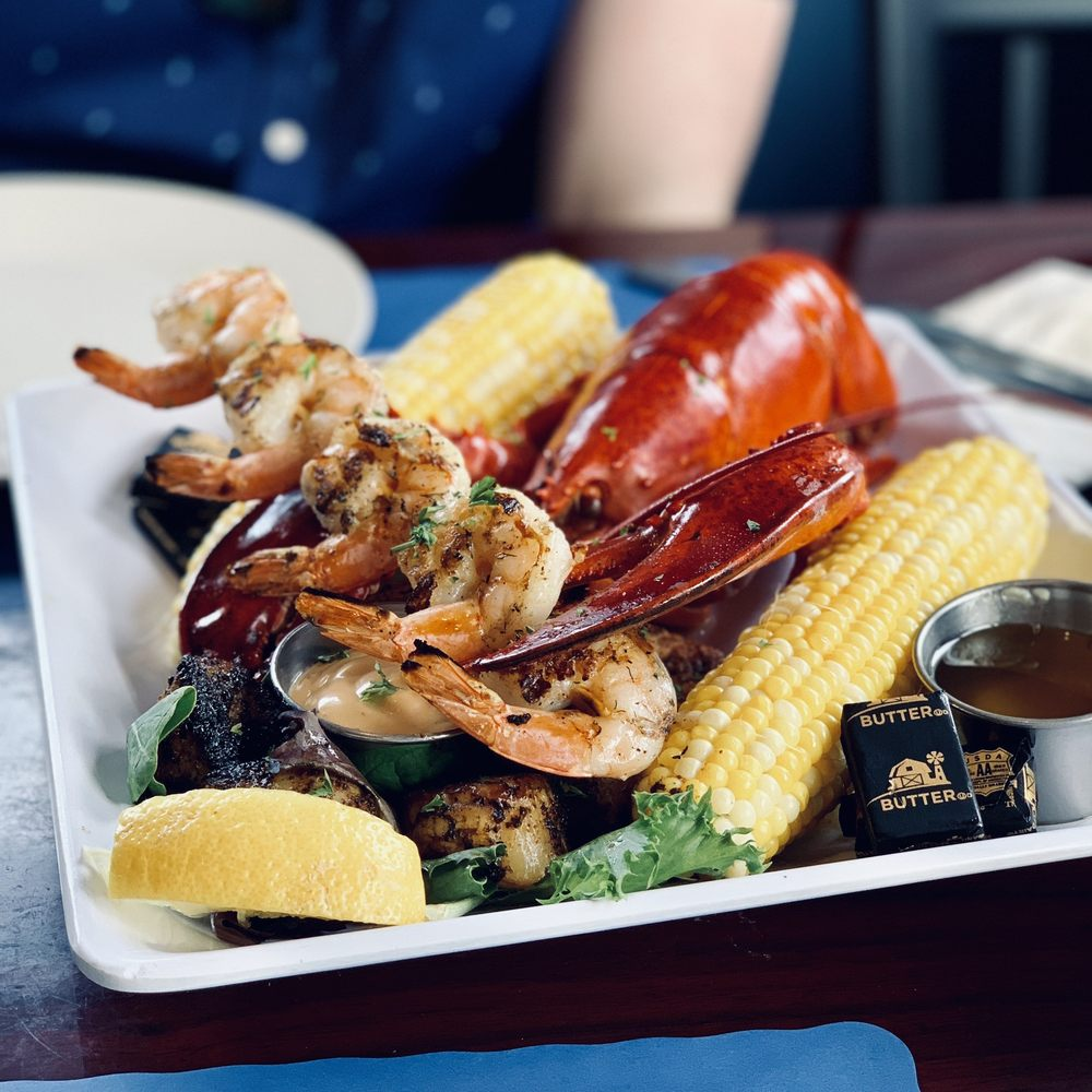 Food from Catch 1251 Seafood & Grill