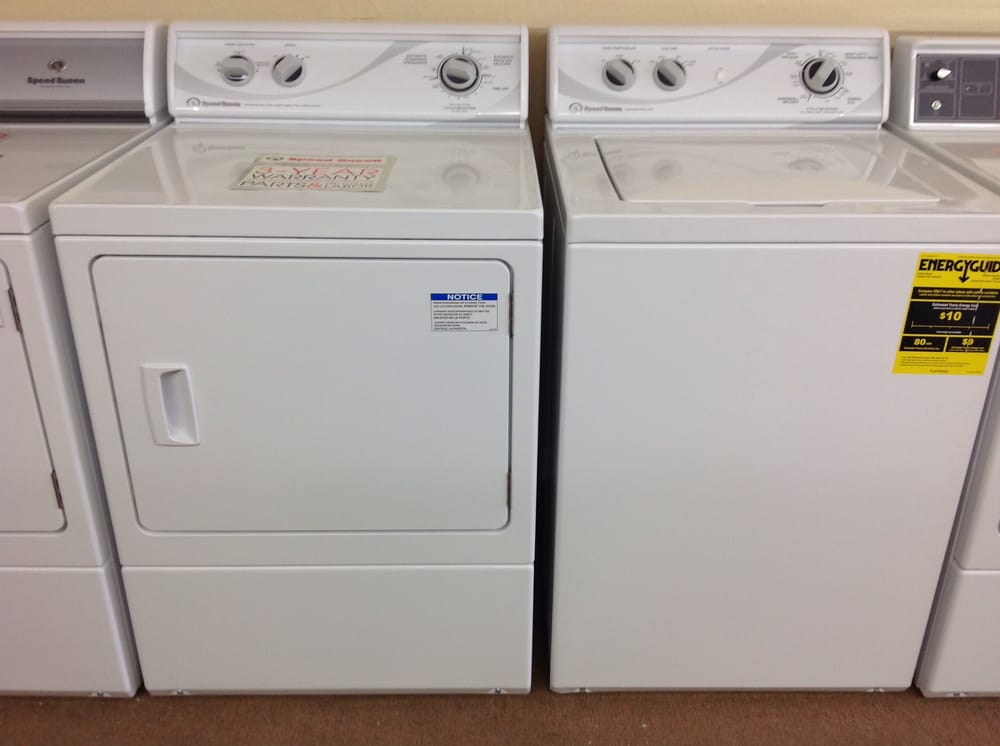 Brand New Speed Queen Washer And Dryer Commercially Built