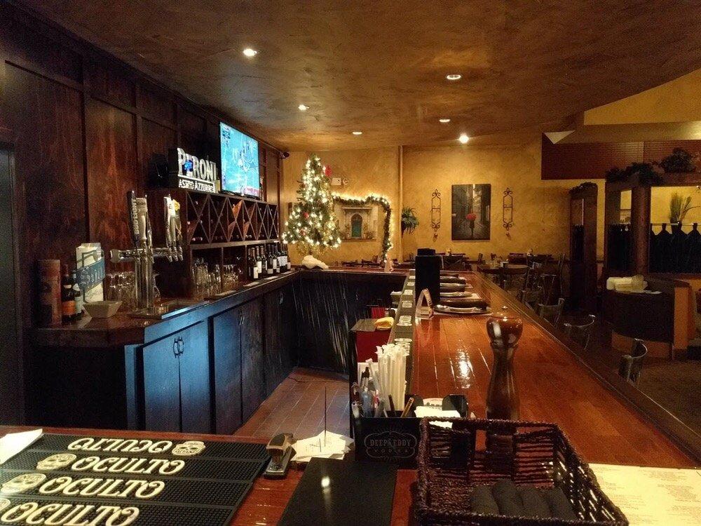Restaurants Italian Near Me: Bar Area....