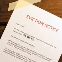 Photo Of Eviction Notice Riverside   Westminster, CA, United States