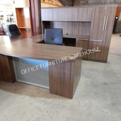 Photo Of Office Furniture Warehouse   San Antonio, TX, United States. NEW  WALNUT