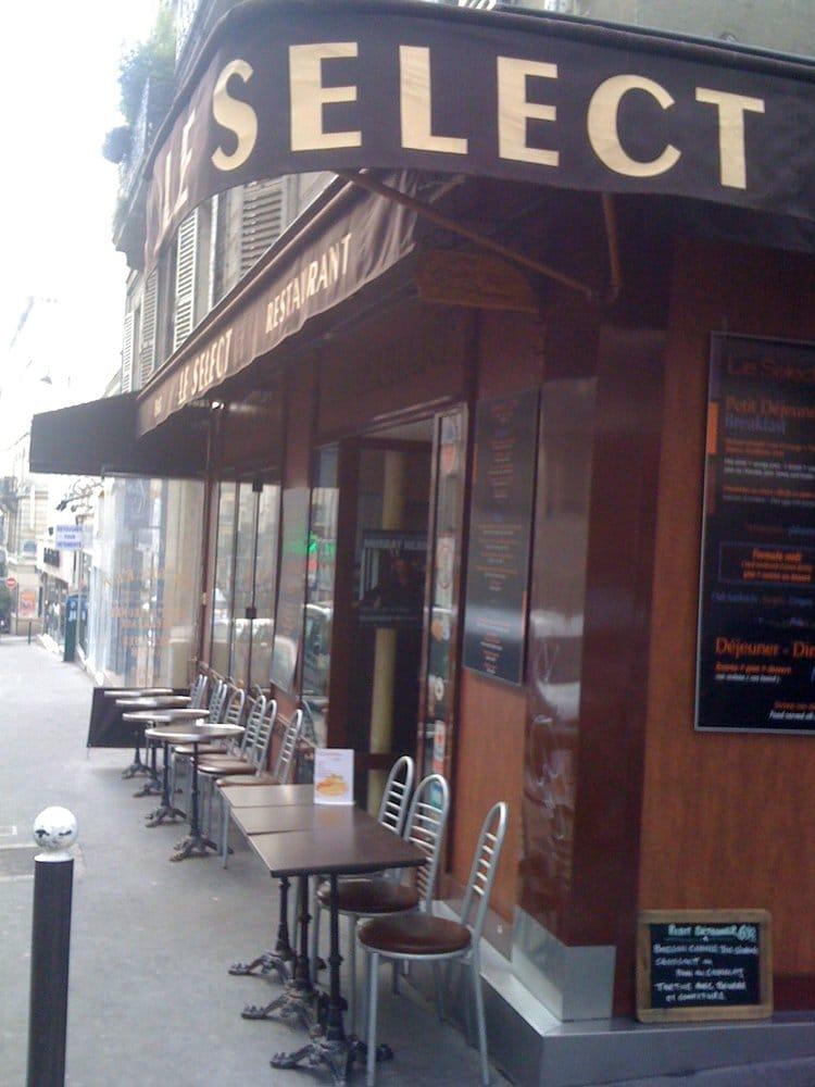 Select caf geschlossen bistro 37 rue des martyrs for Restaurant miroir rue des martyrs