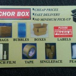 Anchor Box Company - Packing Supplies - 11043 Fuqua St