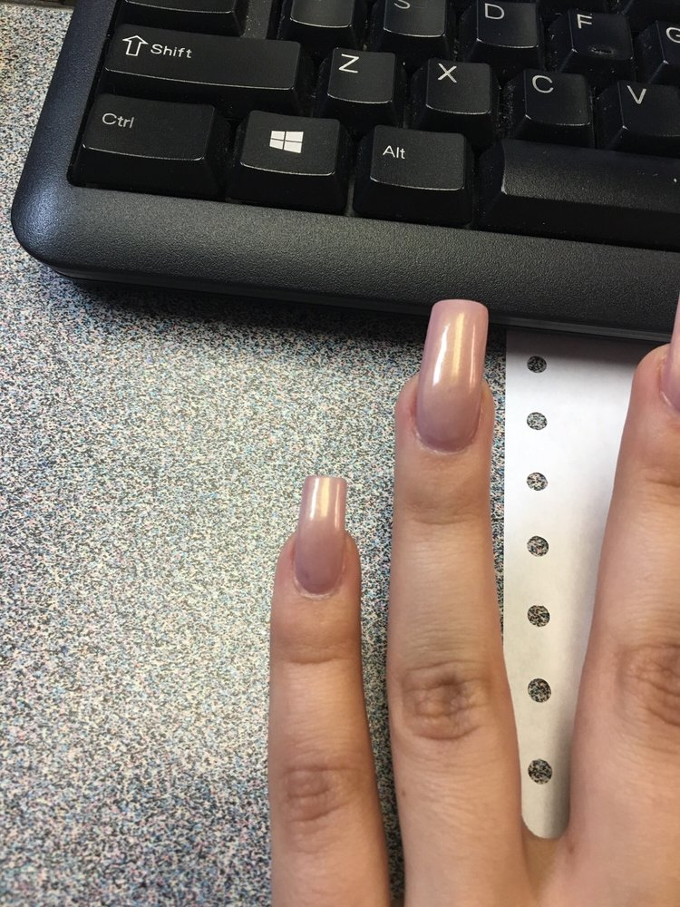 Crooked ring finger and too thin pinky nail top - Yelp