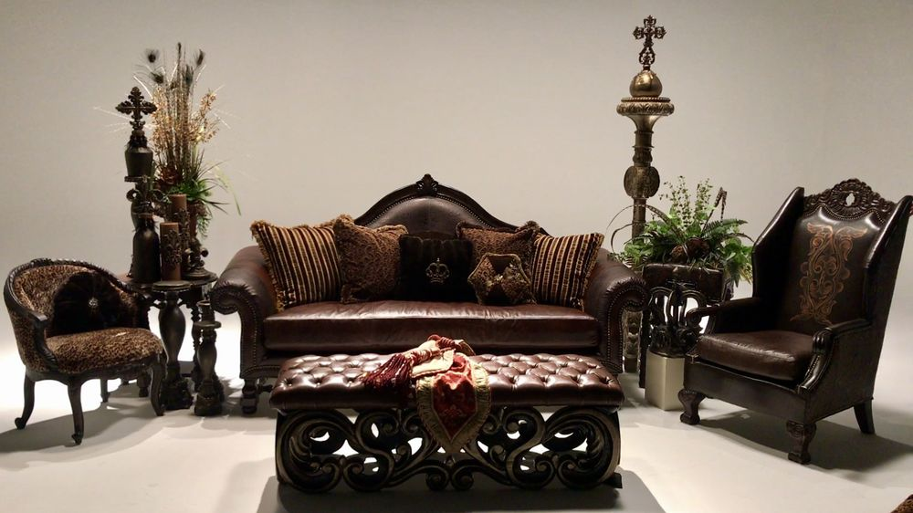 Photo Of Luxe Furniture   Frisco, TX, United States. Elegant Living Room Set