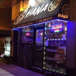 Hana Sushi Chinese And Thai Restaurant Chicago Il