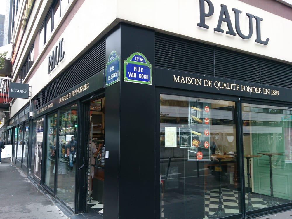 paul bakeries 193 197 rue de bercy bercy paris france yelp. Black Bedroom Furniture Sets. Home Design Ideas