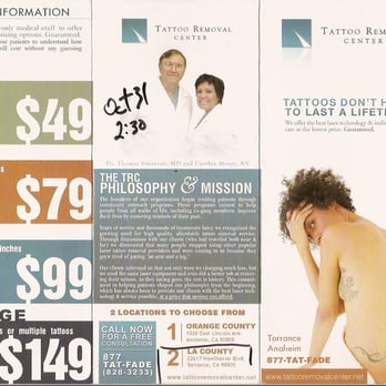 Tattoo removal center closed tattoo removal 23560 for Laser tattoo removal madison wi