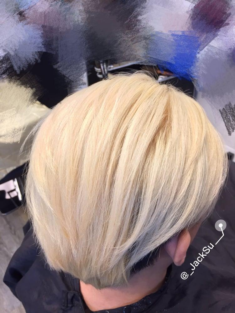 Blonde white jacksu yelp for 22 salon houston