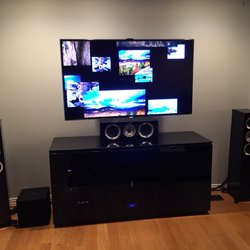 Exceptional Photo Of Eastside Audio Video   Bellevue, WA, United States. Front Channel  Speakers