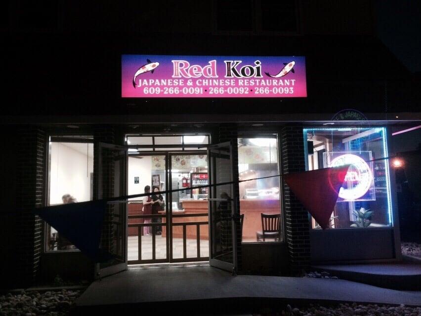 Red Koi Japanese And Chinese Restaurant Brigantine Nj