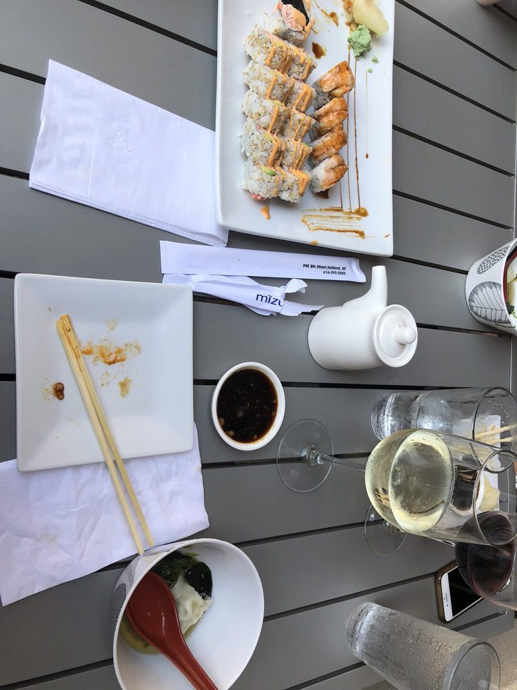 Mizu Sushi: 99 E 8th St, Holland, MI