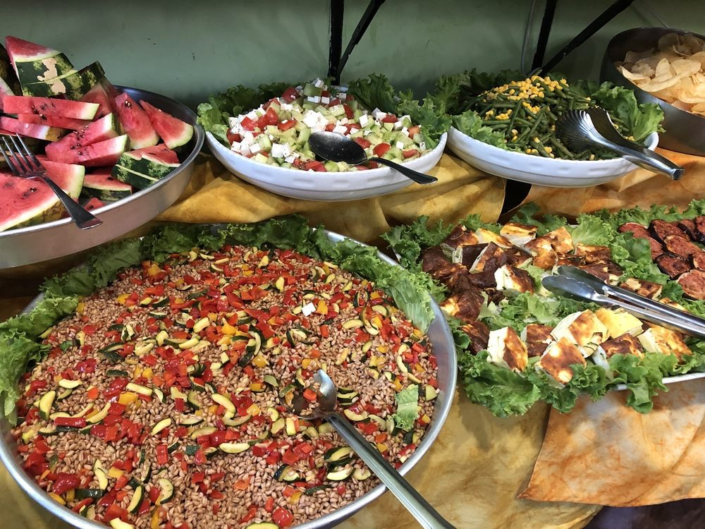 Fabulous Super Delicious Healthy Food Buffet Served During Happy Hour Download Free Architecture Designs Scobabritishbridgeorg