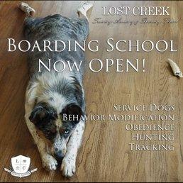 Lost Creek Training Academy Boarding School Pet Training 1783