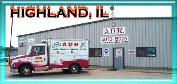 ADR Auto & Truck Repair & Towing: 140 Matter Dr, Highland, IL