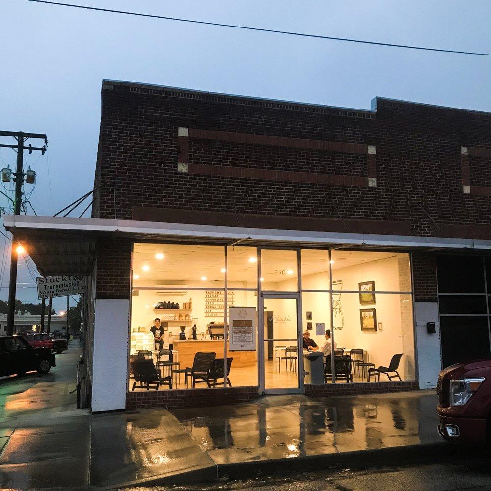 Arbuckle Craft Coffee: 230 W 12th St, Ada, OK