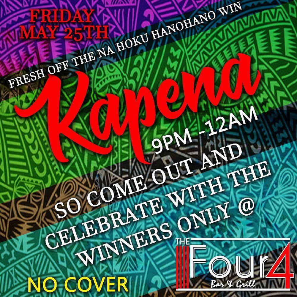 The Four4 Bar: 45-1117 Kamehameha Hwy, Kaneohe, HI