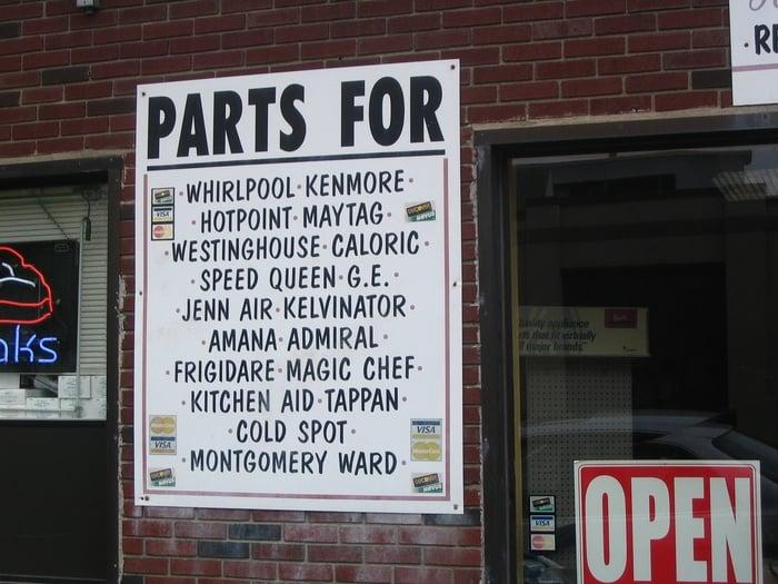 Valley Appliance Parts - Appliances - 156 Bridge St