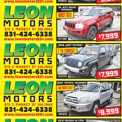 leon motors 615 e market st salinas ca