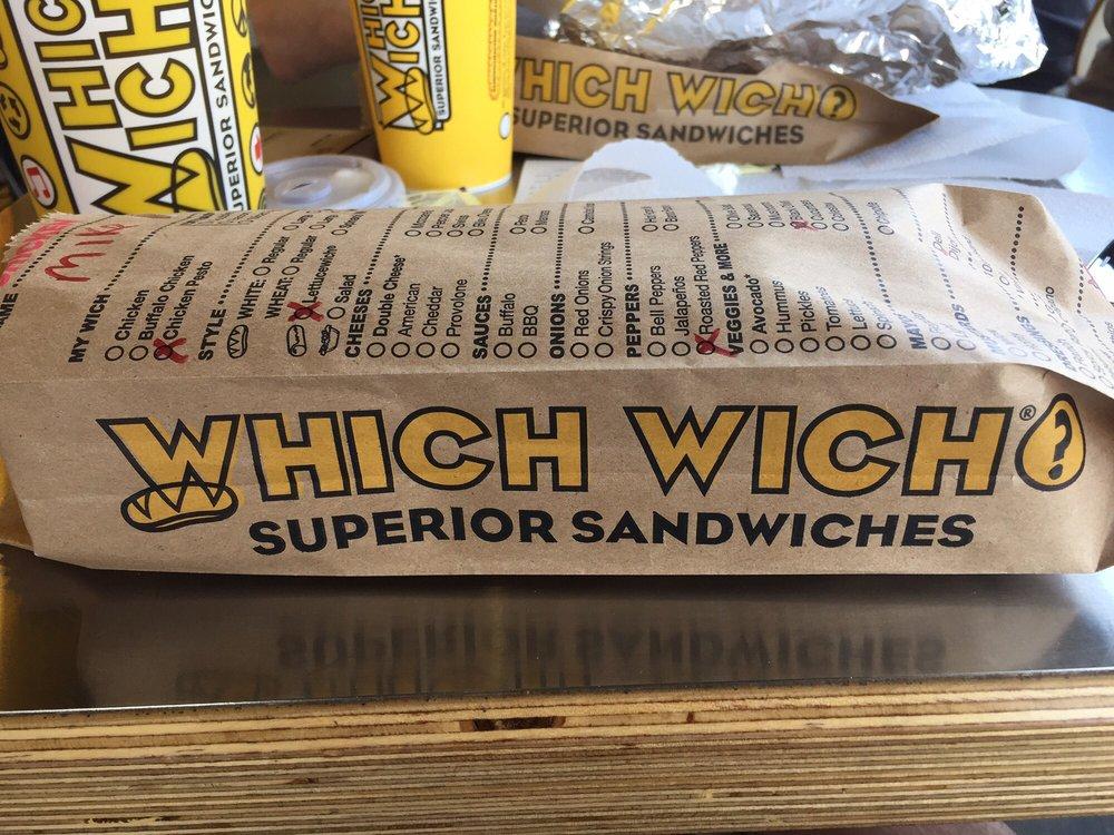 Which Wich: 6109 US Hwy 98, Hattiesburg, MS