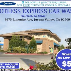 Spotless express car wash 20 photos 28 reviews car wash 8675 photo of spotless express car wash riverside ca united states solutioingenieria Gallery
