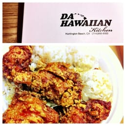 Da Hawaiian Kitchen Huntington Beach Menu