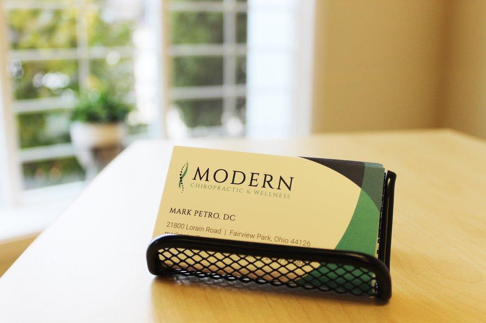 Modern Chiropractic & Wellness: 21800 Lorain Rd, Fairview Park, OH