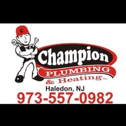 Photo Of Champion Plumbing Heating Llc Haledon Nj United States Licensed