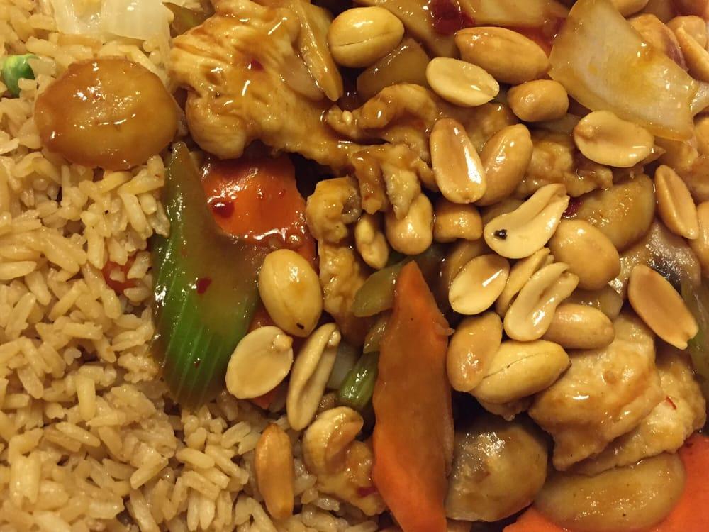 Family Garden Chinese Columbus Ohio: Kung Pao Chicken W/ Peanuts