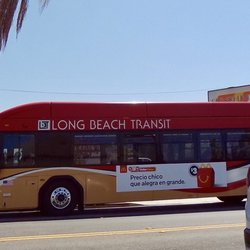 Photo Of Long Beach Transit Line 173 Ca United States