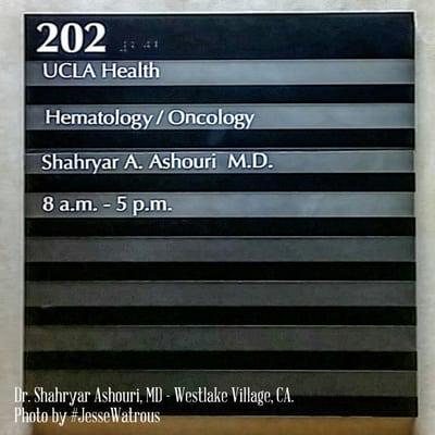 UCLA Health Westlake Village Cancer Care 1250 La Venta Rd Stes 200
