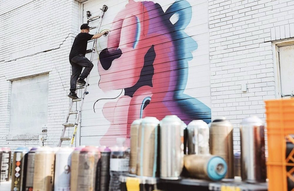 Murals in the Market: 1410 Gratiot Ave, Detroit, MI