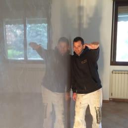 Antonio liso 11 foto imbianchini via giusti 14 for Grassello di calce spatolato