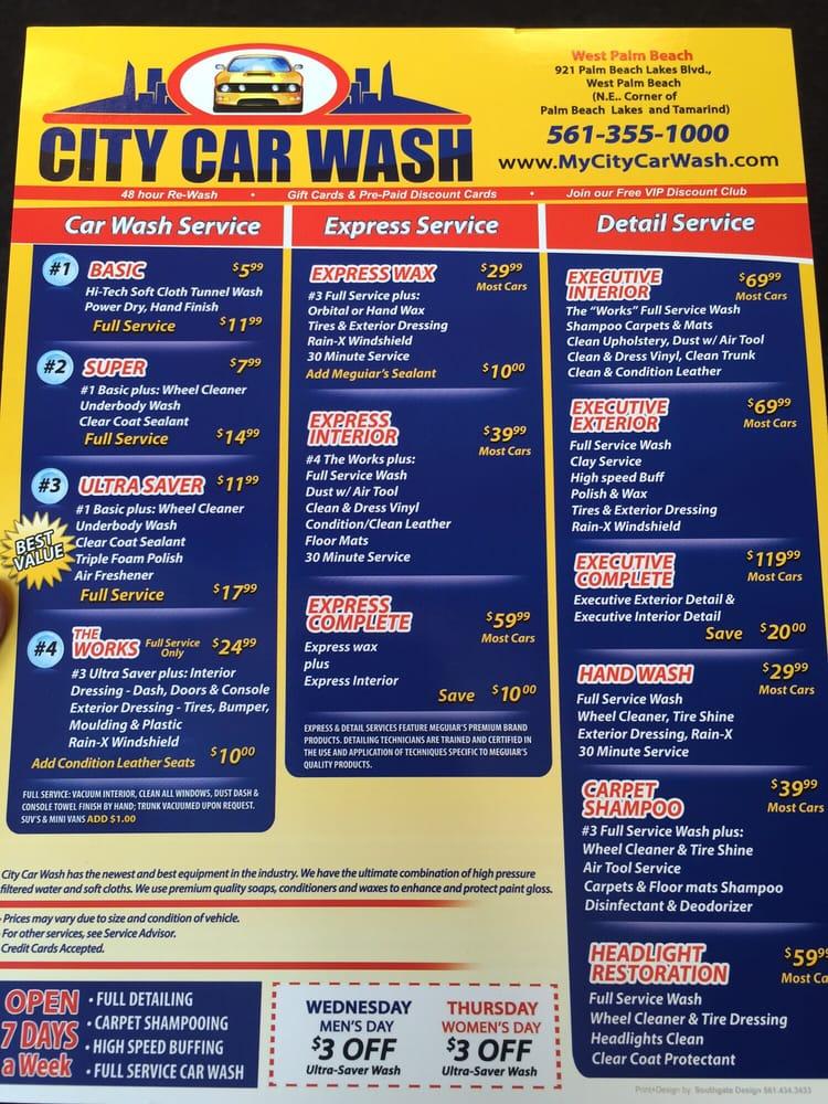City Car Wash West Palm Beach Fl