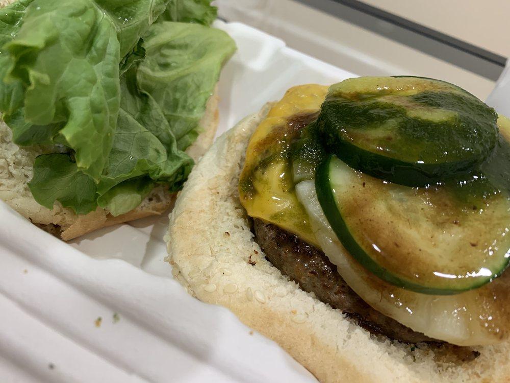 Food from Island Burger
